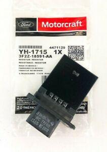 New OEM Genuine Ford Motorcraft HVAC Blower Motor Resistor YH-1715 3F2Z-18591-AA