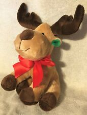 "2013 Berrydirect 10"" Christmas Reindeer Plush Stuffed Animal Cute Baby Gift"