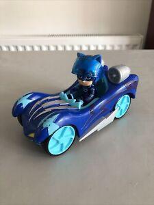 PJ Masks Catboy Figure with Helmet Accessory And Car Vehicle Rare Set