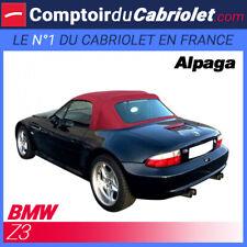 Bmw Z3 cabriolet - Capote en Alpaga Stayfast® bordeaux avec poches latérales