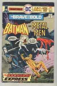 Brave and the Bold #121 September 1975 VG Metal Men