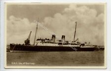 """(Ld3480-469) RP, R.M..S """"Isle of Guernsey"""",  Used, VG"""