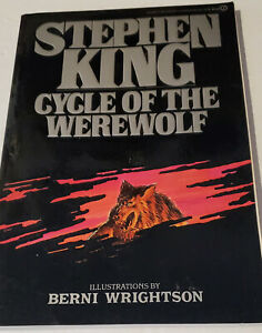 CYCLE OF THE WEREWOLF by Stephen King - 1st Signet Printing -1985- Softcover -VG