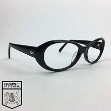 Calvin Klein ovale nera per occhiali telaio AUTENTICO. MOD: CK 4102srx