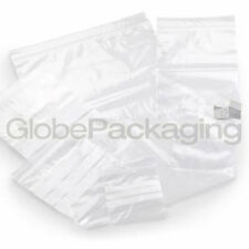 """200 x GRIP SEAL RESEALABLE POLY BAGS 9"""" x 12.75"""" GLA4"""