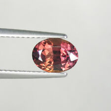 "1.78 ct ""UNHEATED"" BROWNISH ORANGE PINK RED  - NATURAL SAPPHIRE - See Vdo 4623"