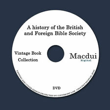 History of the British and Foreign Bible Society – 5 PDF e-Books on 1 DATA DVD