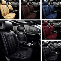 2PCS Diamond PU Leather Car Front Seat Covers for Holden Ute SS SV Ford Ute XR6