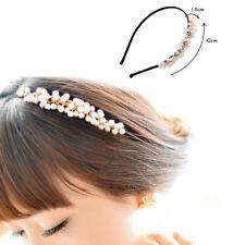 Hot!Korea Style Mini Venetian pearl Headband Hairpin Hair Clip Accessories Lady
