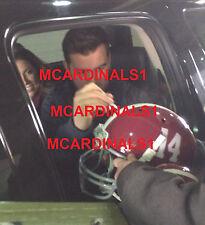 Alabama #10 AJ MCCARRON Signed Autographed Football F/S Helmet COA! EXACT PROOF!