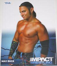 TNA MAX BUCK P-32 IMPACT WRESTLING 8X10 PROMO PHOTO