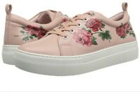 J Slides anthropologie Adel floral tattoo sneakers 7.5 m pink leather shoe NEW