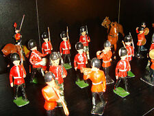 Vintage British Soldiers, Bands and Horses Lead Figure Collection 1940-60s