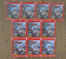 Panini Planes 2 Sammelsticker 10 Tüten / 50 Sticker Neu & OVP