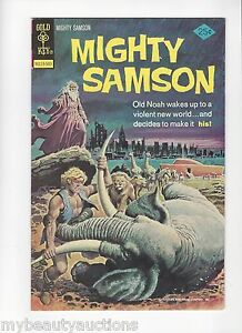 Gold Key Comics Mighty Sampson # 27. March, 1975. VF+. FREE SHIPPING.