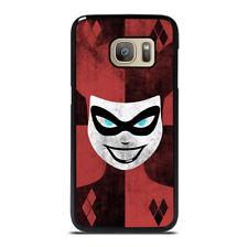 HARLEY QUINN RED LOGO Samsung Galaxy S6 S7 Edge S8 S9 S10 Plus Note Phone Case