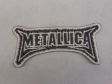 Metallica Embroidered patch logo USA SELLER FAST DELIVERYLER FAST DELIVERY