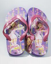 Mia & me grils flip-flop, pink girls slipper, new, free ship, size: 33 (US:1,5Y)
