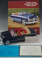 FRANKLIN MINT 1949 FORD CUSTOM CONVERTIBLE DIE-CAST 1:24 SCALE MINT CONDITION
