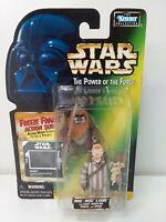 Star Wars Power of the Force POTF Ewoks Wicket & Logray Freeze Frame 1997 NOC