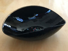 Murano Yalos Casa Millefiori Folded Art Glass Bowl -- Large