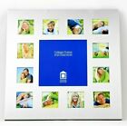 Photo Collage Metal Frame - 12 Small  1 Large Photo Family Portrait Baby Photos