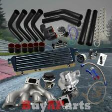 DIY Black Intercooler Piping Coupler Turbo Kit for 88-00 Honda Civic D15 D16