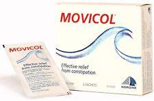 ツ  MOVICOL POWDER SACHETS RESTORES HEALTHY BOWEL MOVEMENTS CONSTIPATION 8 PACK
