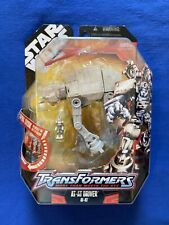 HASBRO TRANSFORMERS STAR WARS AT-AT DRIVER w/ Missile NEW 30th Anniversary 2007
