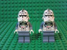 Clone Pilot WHITE HEAD Helmet 8096 Star Wars LEGO Minifigure Minifig WF1