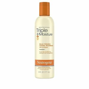 Neutrogena Triple Moisture Silk Touch Leave-In Cream For Dry And Damaged...