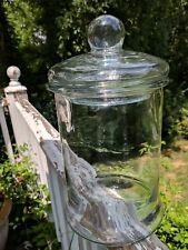 Large Vintage Store Counter Jar