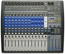 Presonus Analog Mixer Studiolive Ar16 Usb Audio Interface Function