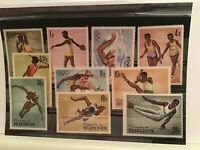 Republic of Burundi Olympic sport  mint never hinged  stamps R21805