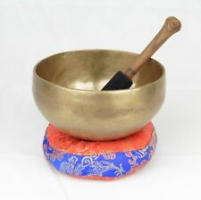 Musical Instruments Buddhism Singing Bowl Nepal Brass Bowl Handmade Tibetan Bell Yoga Copper Chakra 10.5cm Outstanding Features