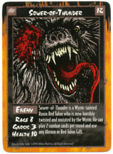 Sower of Thunder Rage CCG TCG Promo Card Werewolf the Apocalypse White Wolf