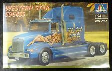 Italeri 717 Western Star 5964SS Model Truck Kit 1/24 Scale SEALED