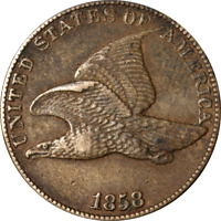 1858LL Flying Eagle Cent Great Deals From The Executive Coin Company