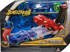 Screechers Wild SCREECHER SPEED LAUNCHER Flipping Morphing Toy Car Vehicle