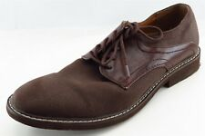 GUESS Derby Oxfords Brown Synthetic Men Shoes Size 10 Medium (D, M)
