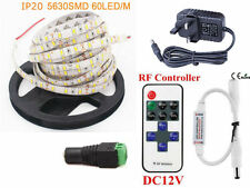 Blanco 3528 LED luz de tira IP20 No impermeable +/- 2 Amperios Enchufe De Alimentación/11Key remoto