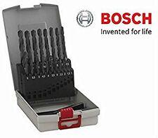 BOSCH 19 PC STEEL METAL DRILL BIT SET HSS R 1 - 10MM PROFESSIONAL 2608587012