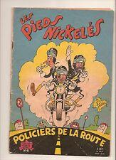 PELLOS/DE MONTAUBERT: LES PIEDS NICKELES POLICIERS DE LA ROUTE (1960) EO
