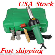 USA Stock! 1600W 110V Easy Grip Plastic Hot Air Welding Gun with Free 2 Nozzeles