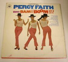 PERCY FAITH - BIM! BAM!! BOOM!!! - LP 33 GIRI