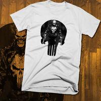 Punisher T-shirt, anime, retro, Akira style vintage, skull All sizes soft cotton
