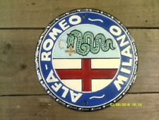 nice ALFA ROMEO Milano Cast Metal SIGN .....Superb Gift  (cm) not enamel