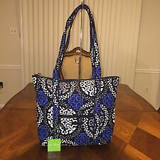 NWT Vera Bradley Villager Tote in Canterberry Cobalt