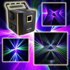 6W RGB animation laser light 12 CH ILDA sound AUTO stage light 6000mw full color