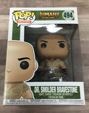 Funko Pop! Jumanji Welcome To The Jungle #494 Dr. Smolder Bravestone The Rock E1